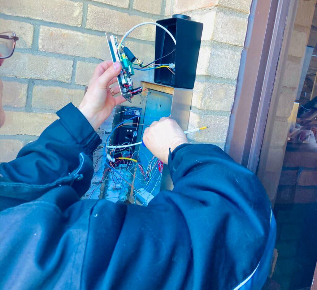 door entry Repair in ASHFORD TW15